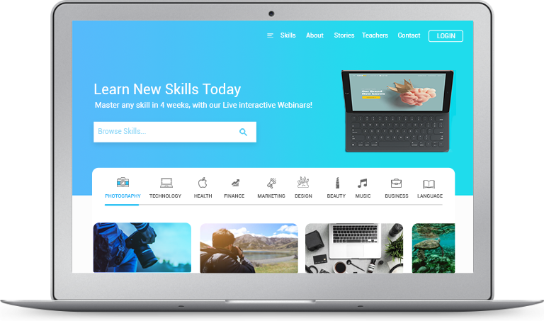 Online Teaching Platform Marketplace