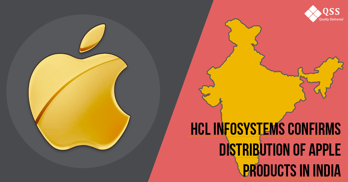 distribution of Apple products in India qss technosoft