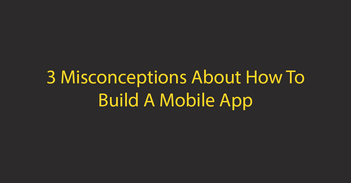 How to build mobile app