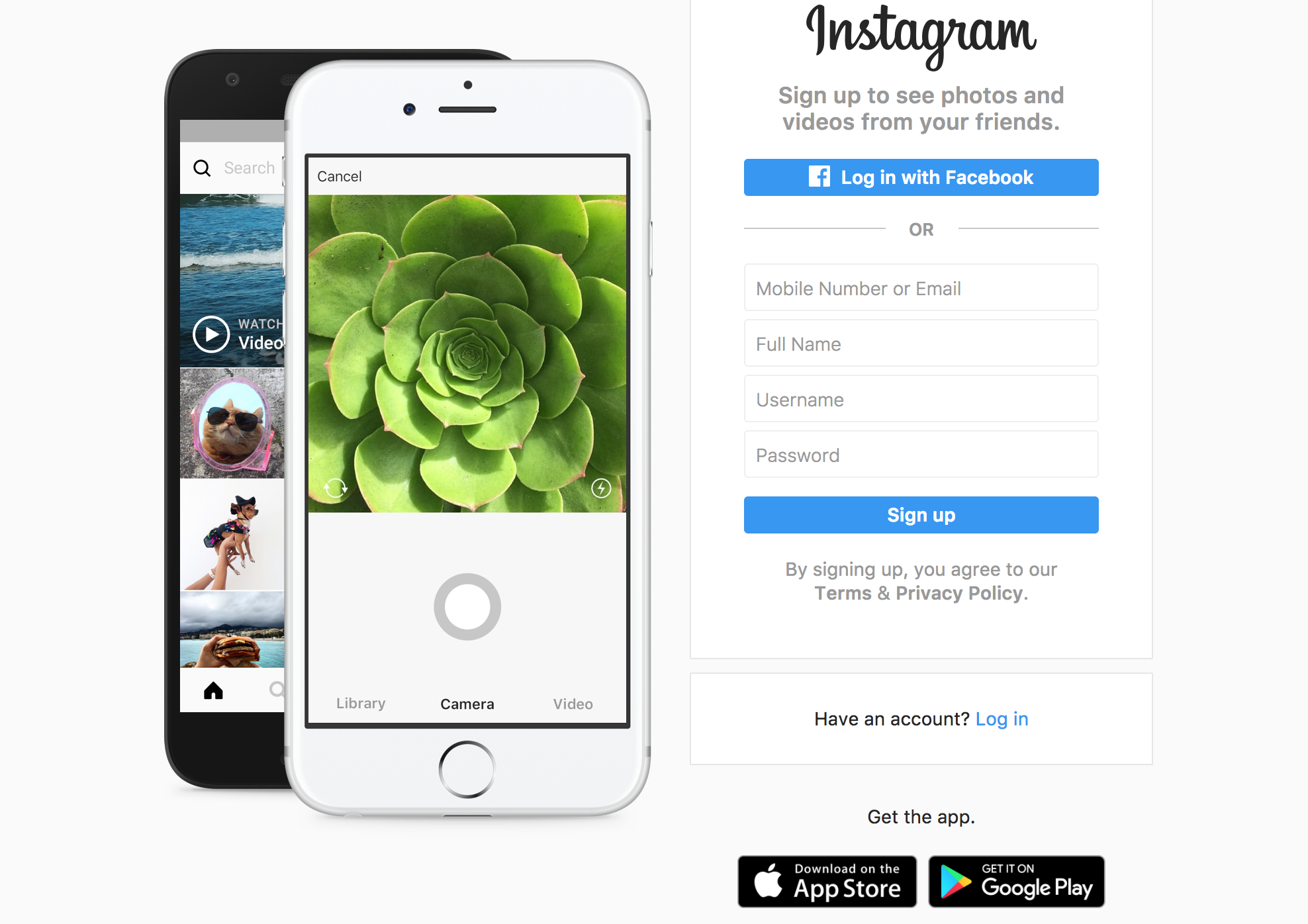 Instagram-react-native-development