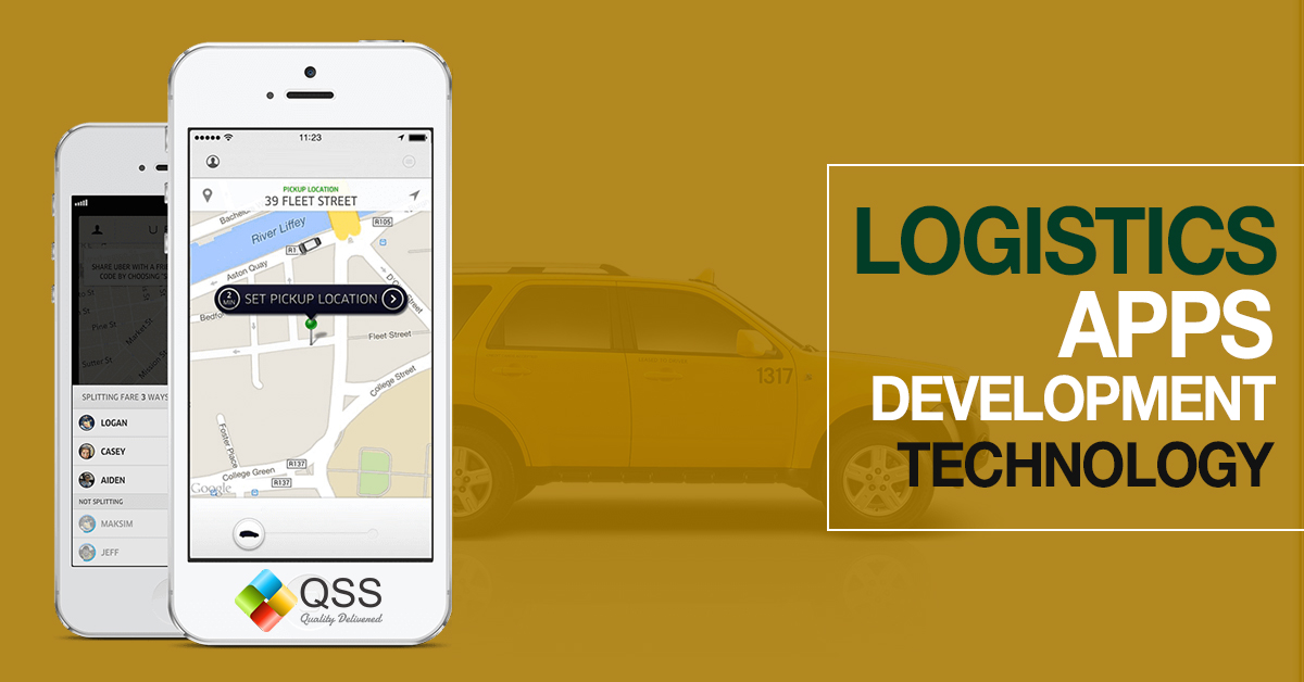 logistics app development technology