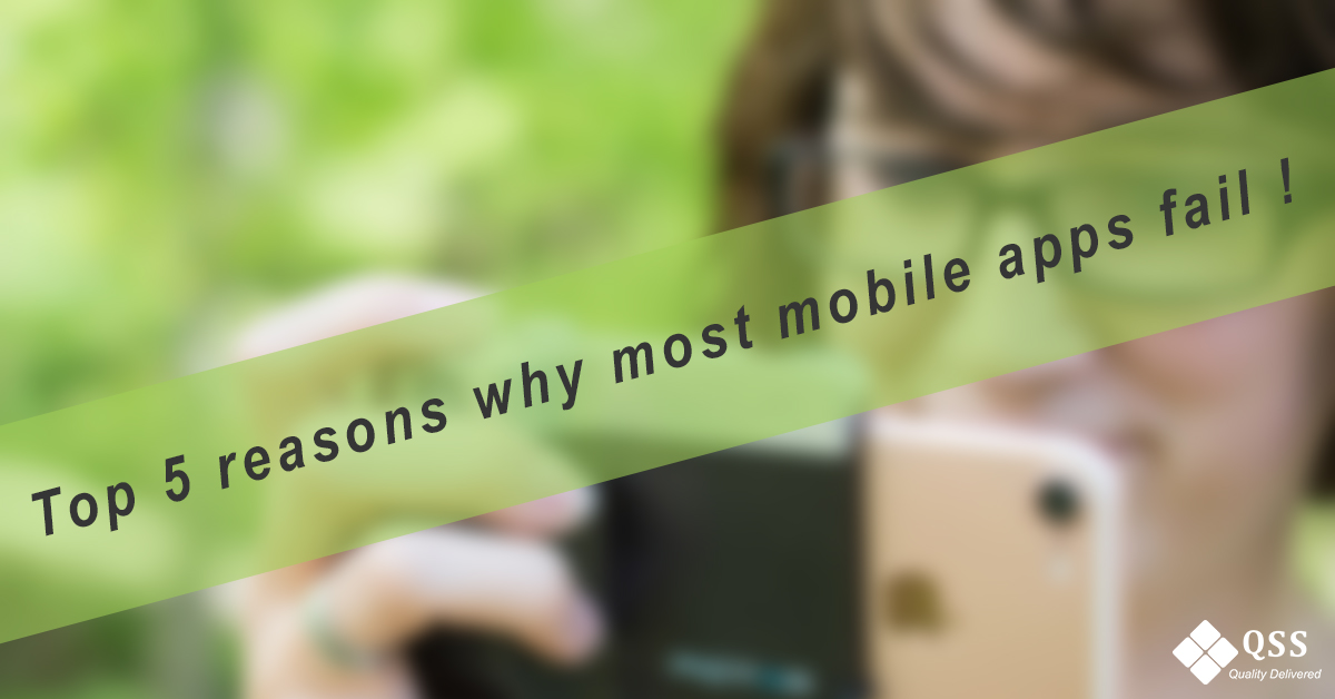 top 5 reasons why mobile app fails