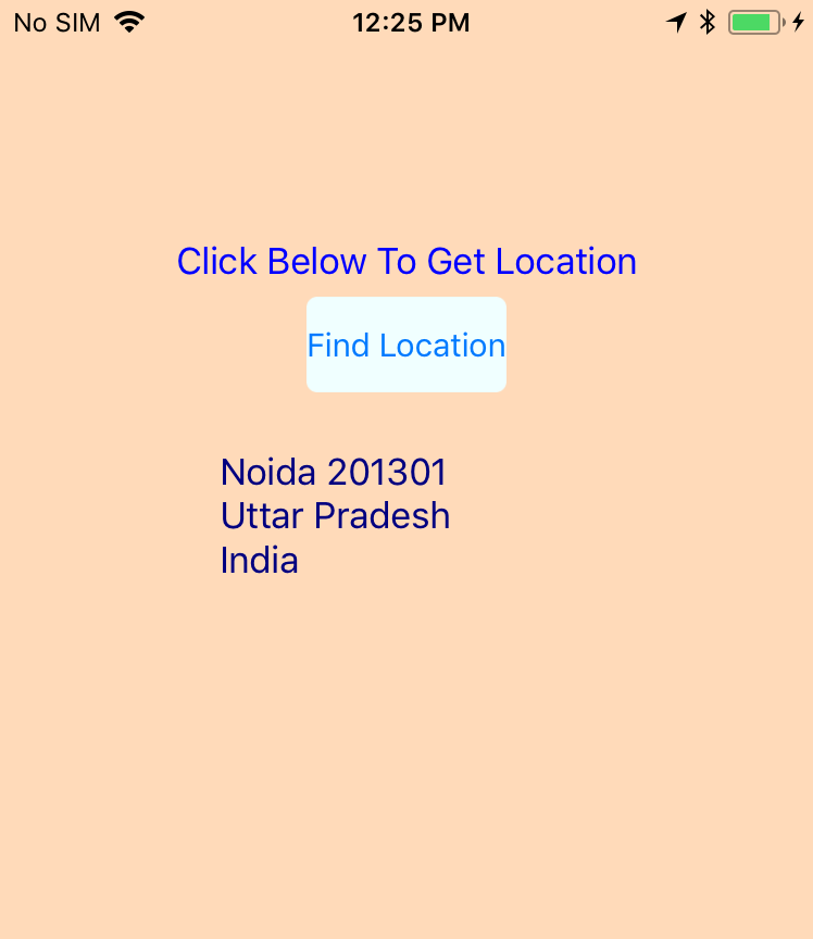 How to use GeoLocator in Xamarin Forms? -