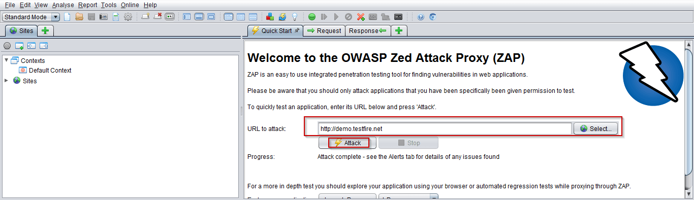 How to use OWASP ZAP
