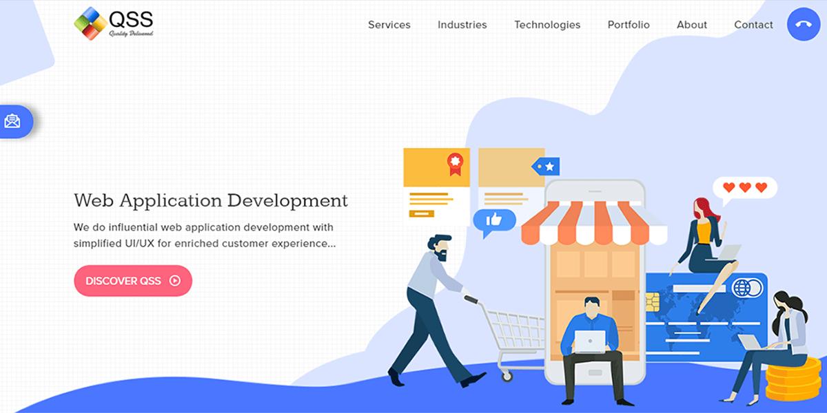 Top Web and Mobile App Development Company | QSS Technosoft