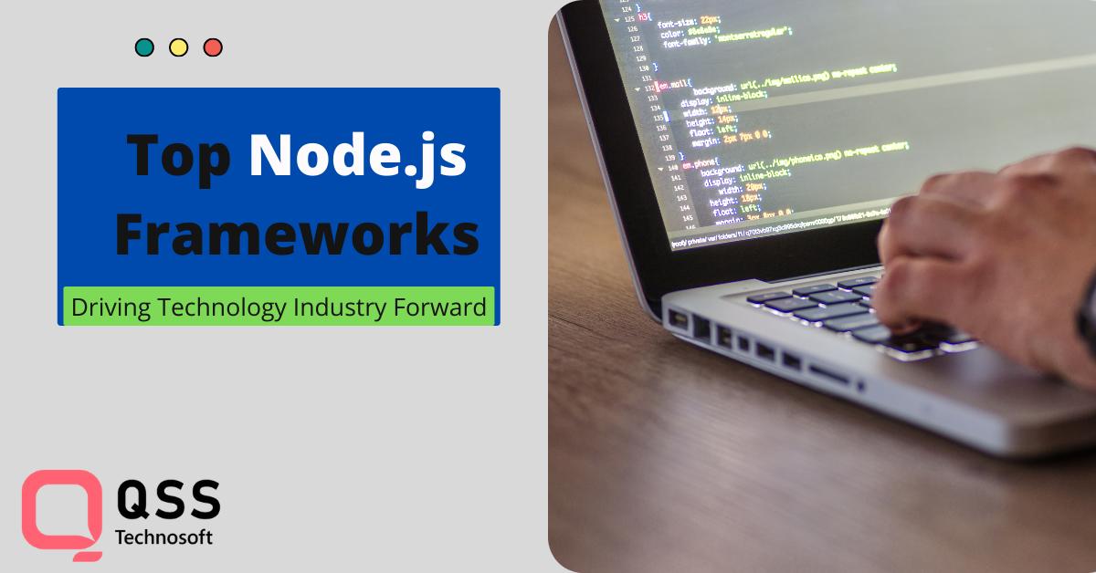 top node.js frameworks