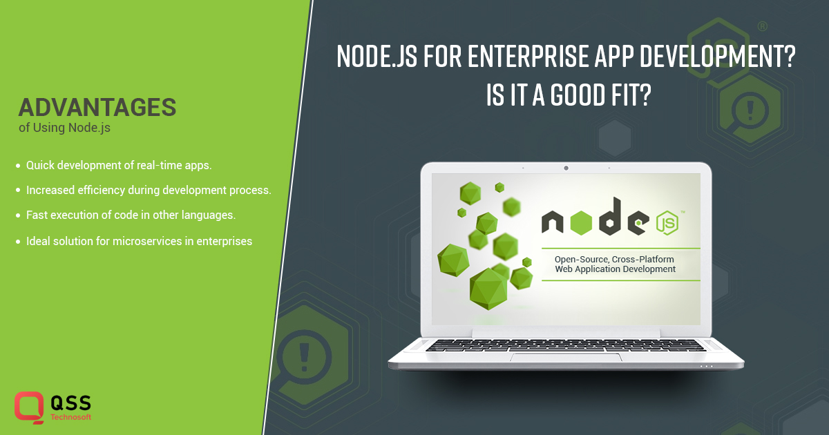 node.js should be used for enterprise app development