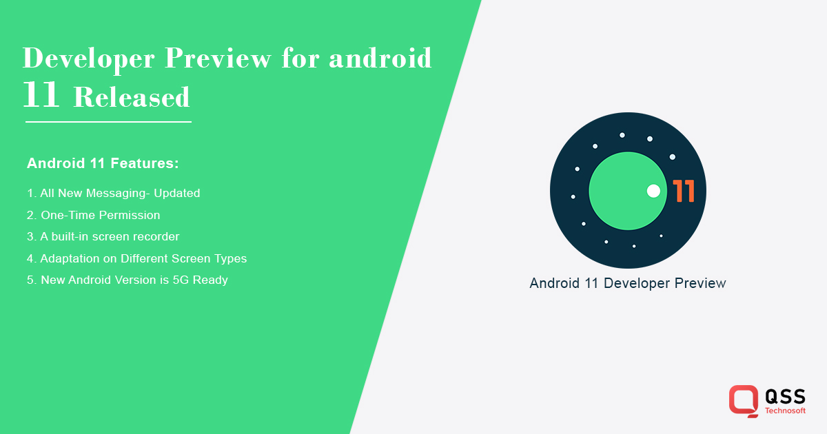 android 11 released features