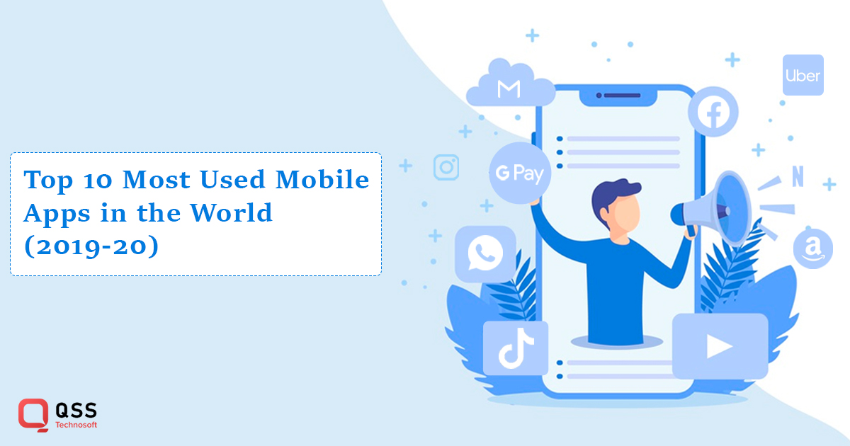 top 10 most used mobile apps in 2020