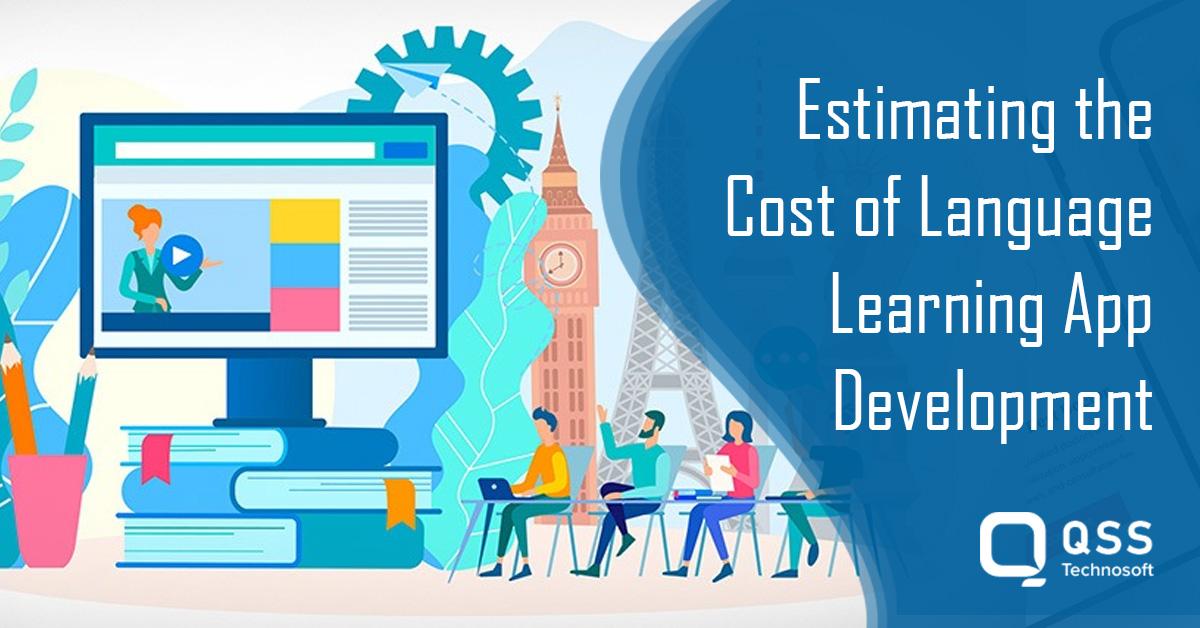 language learning app development cost