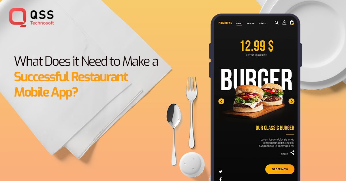 how to build restaurant mobile app