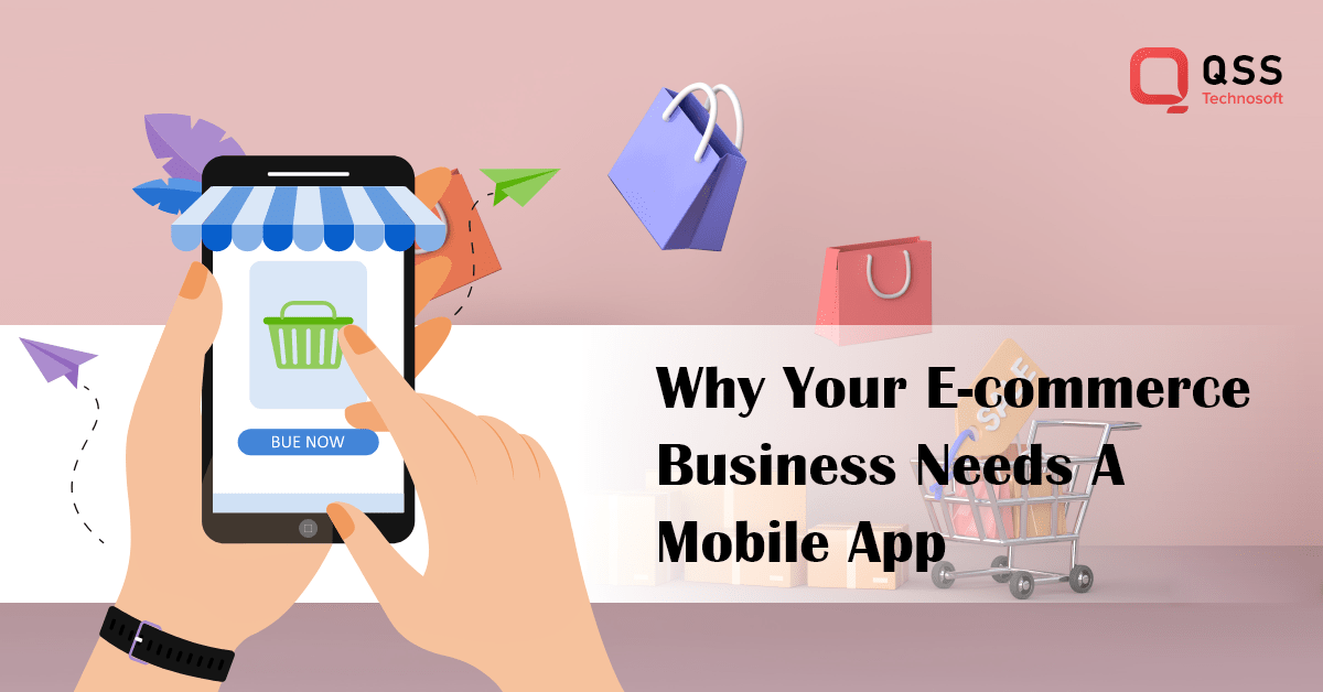 why ecommerce business need a mobile app