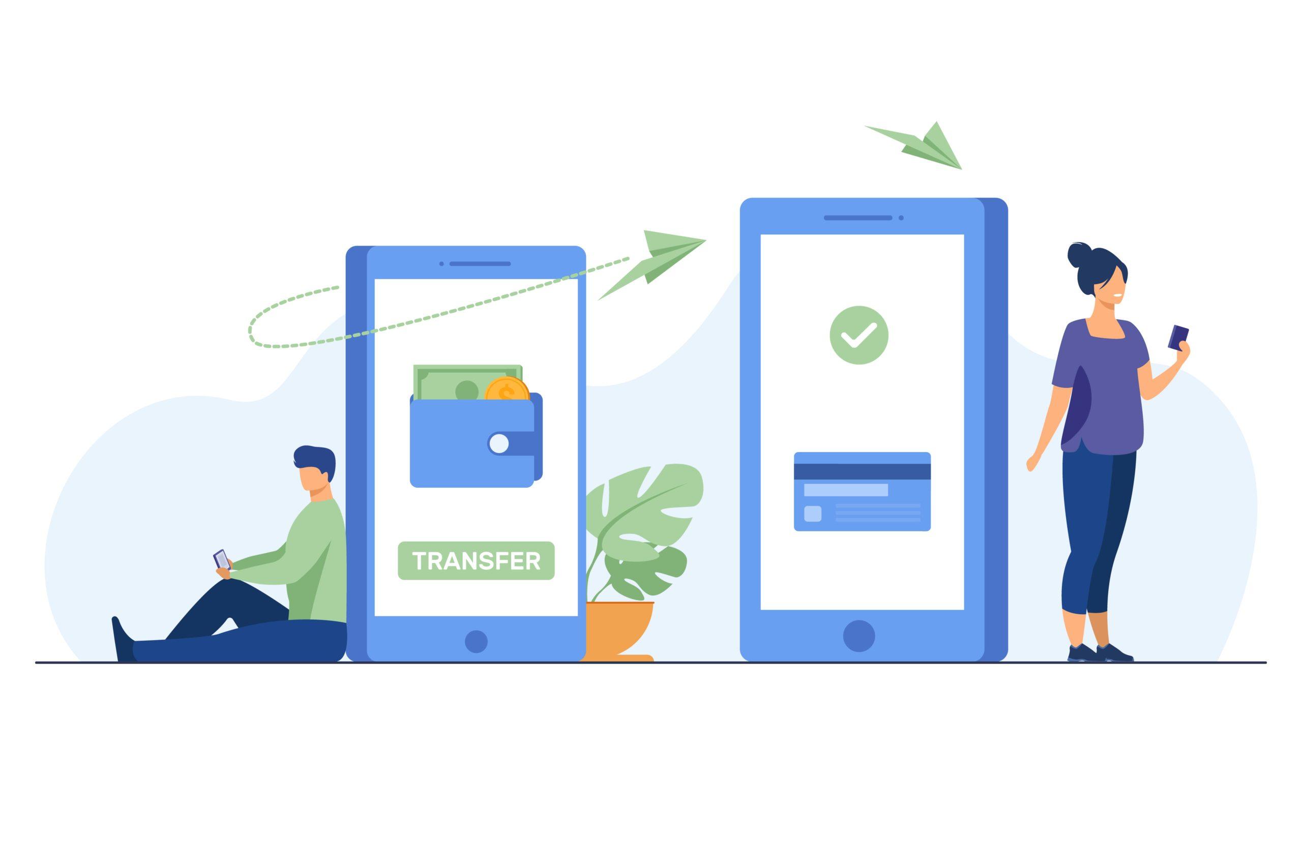 peer to peer transfer money app